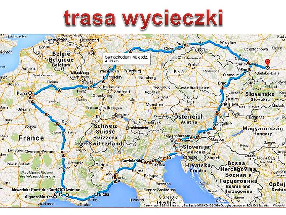 trasa wycieczki