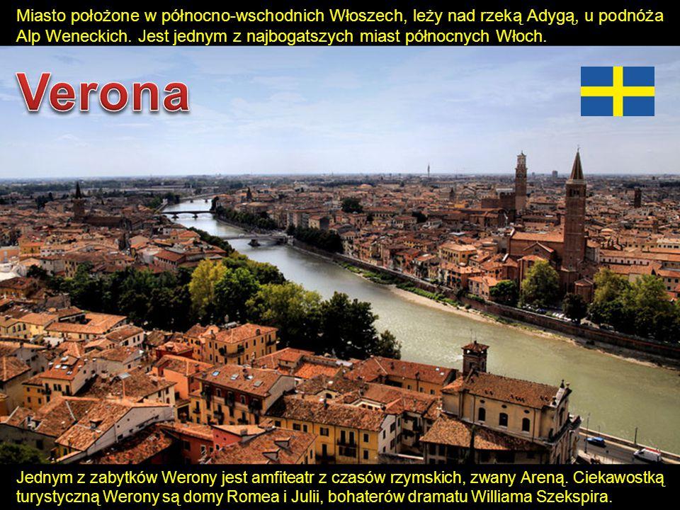 Miasto położone w północno-wschodnich Włoszech, leży nad rzeką Adygą, u podnóża Alp Weneckich. Jest jednym z najbogatszych miast północnych Włoch.