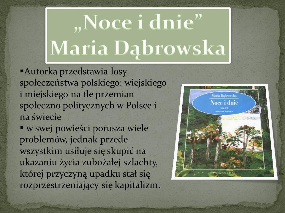 """Noce i dnie Maria Dąbrowska"