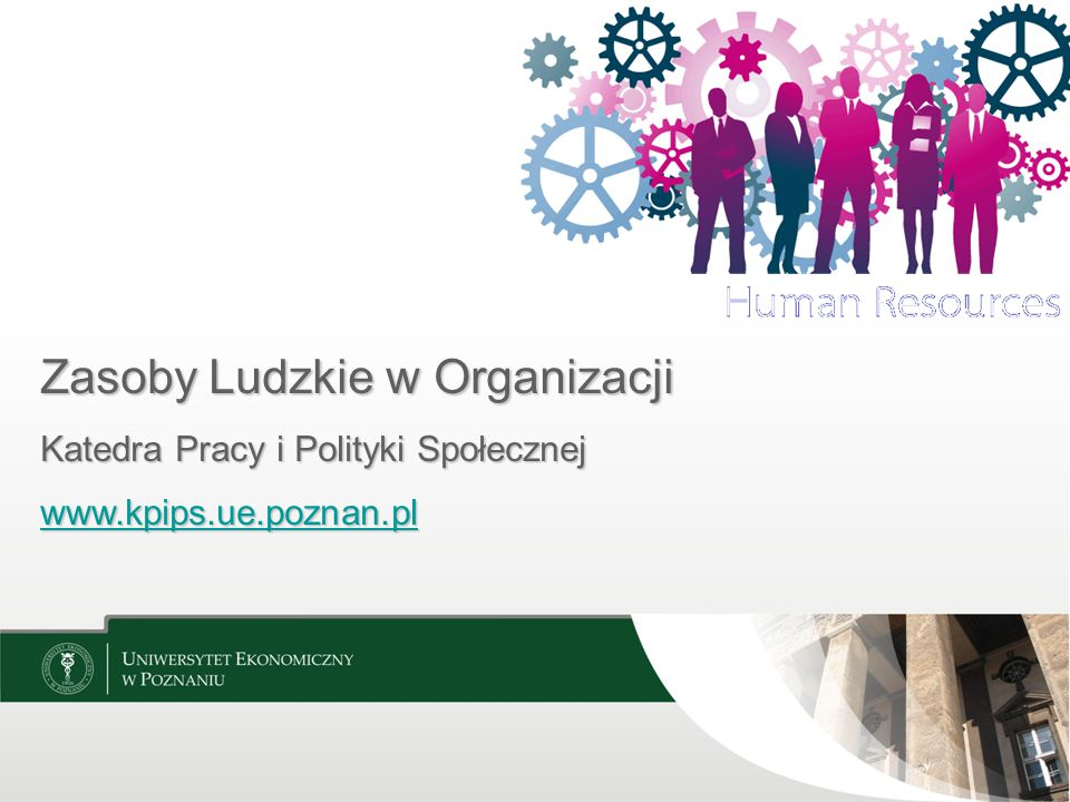 Zasoby Ludzkie w Organizacji