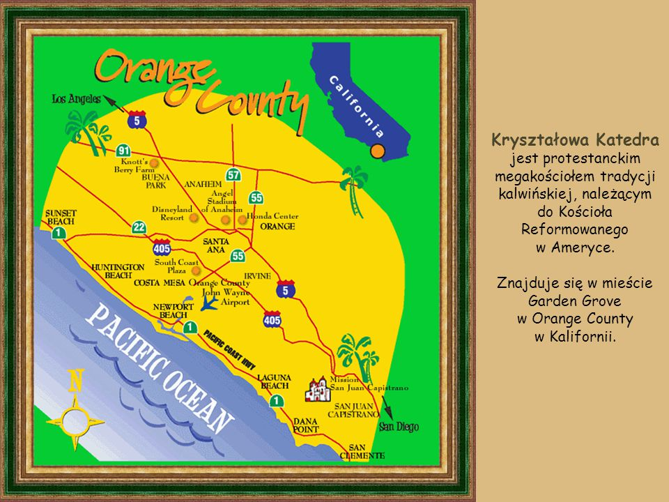 Znajduje się w mieście Garden Grove