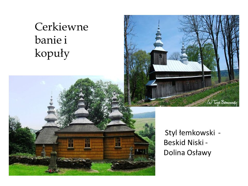 Cerkiewne banie i kopuły