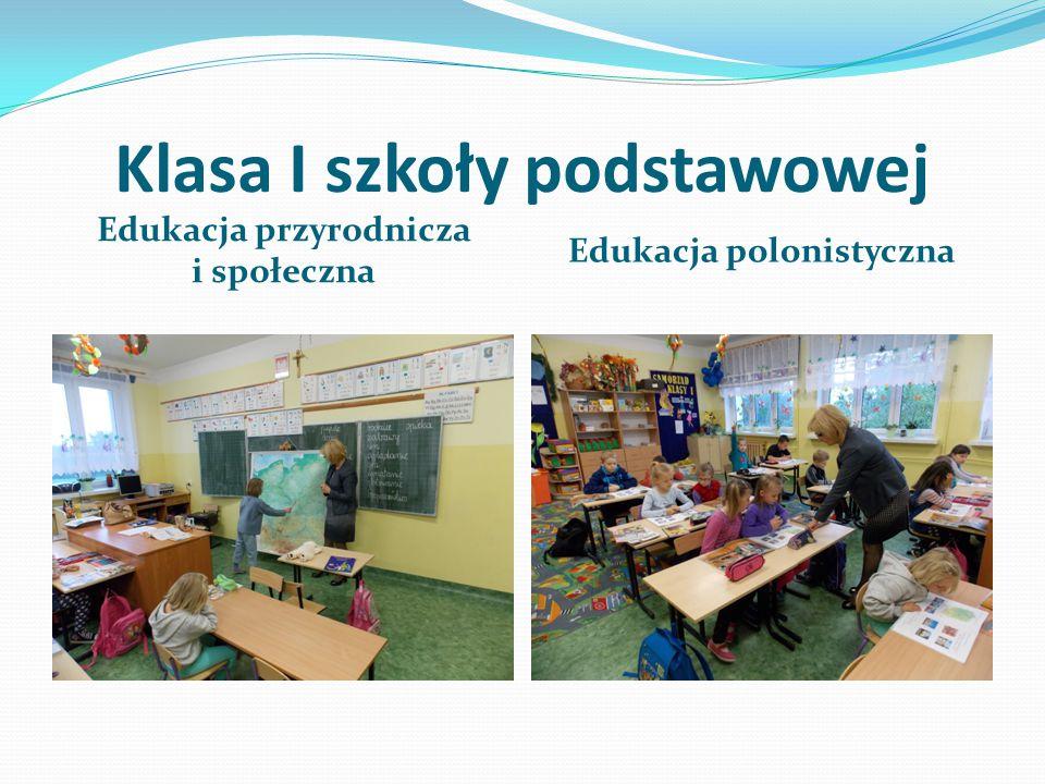 Klasa I szkoły podstawowej
