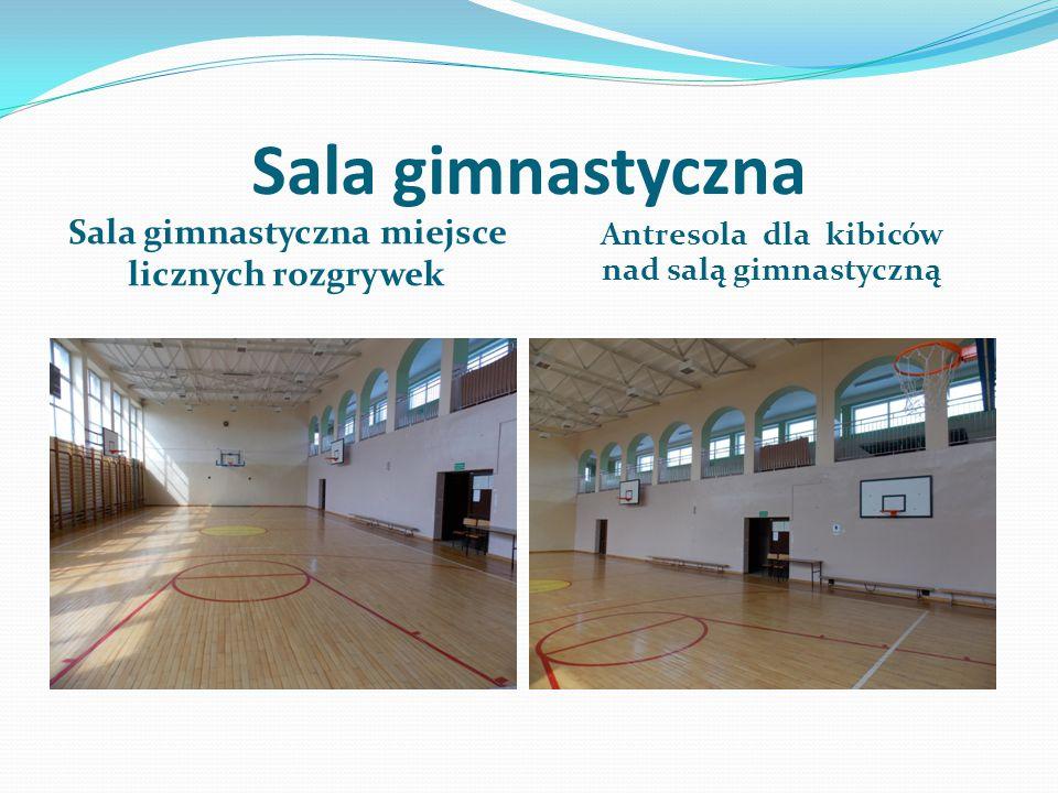 Sala gimnastyczna Sala gimnastyczna miejsce licznych rozgrywek