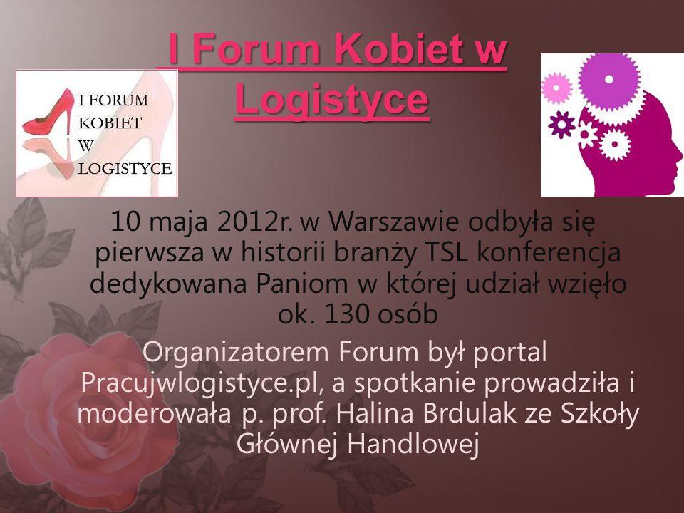 I Forum Kobiet w Logistyce