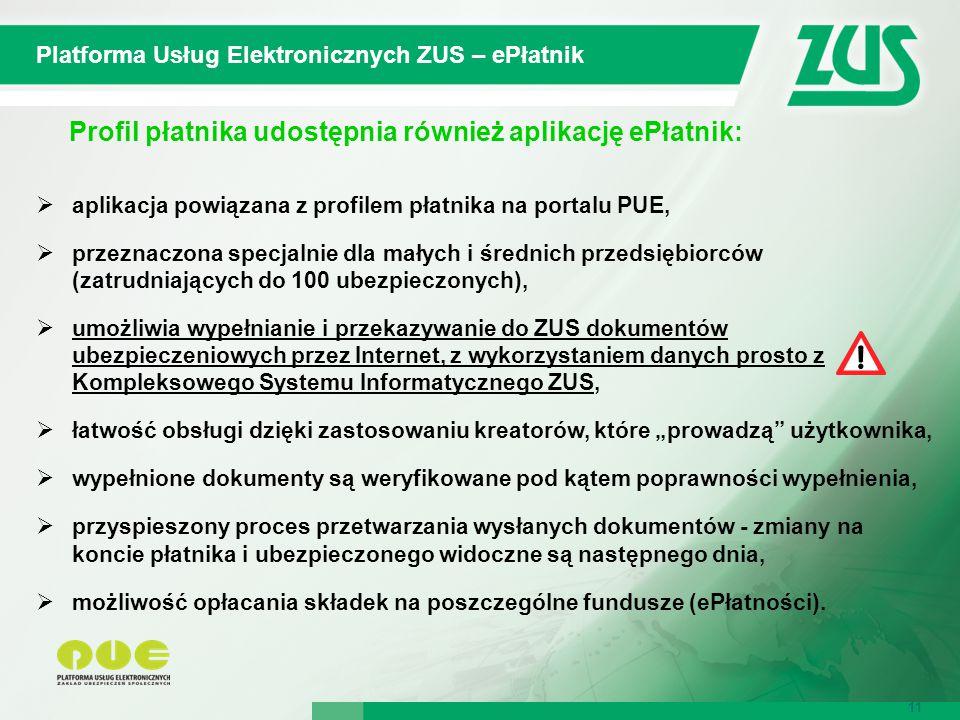 Platforma Usług Elektronicznych ZUS – ePłatnik