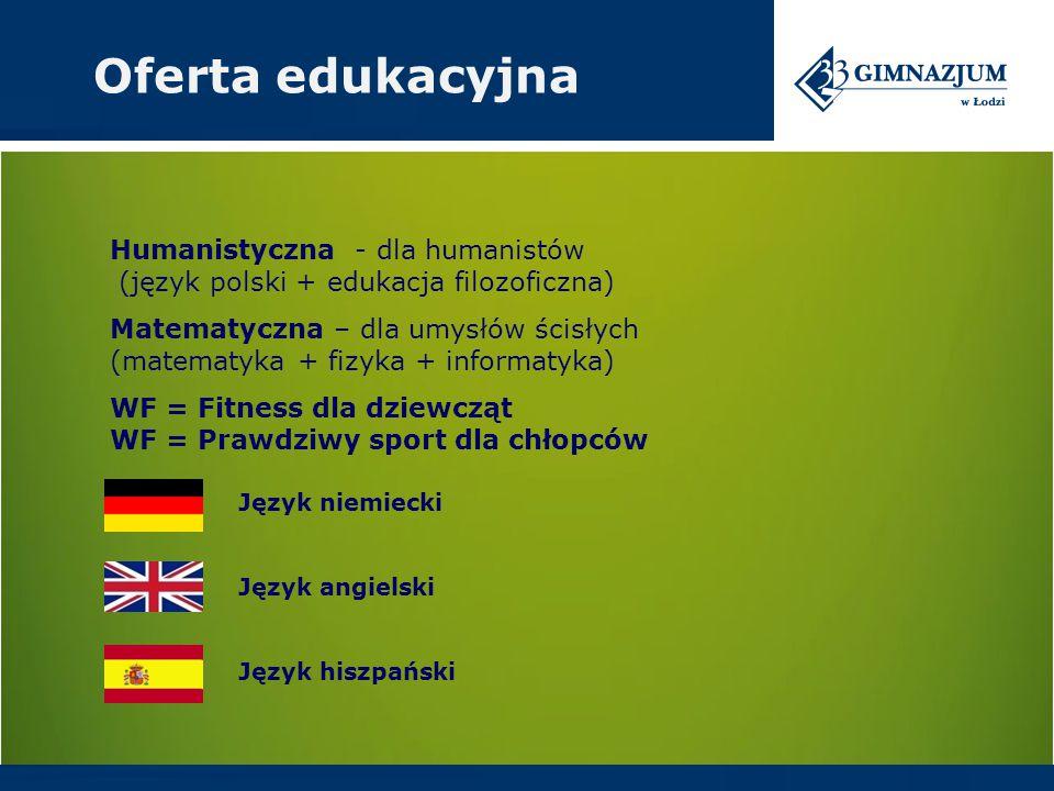 Oferta edukacyjna Humanistyczna - dla humanistów (język polski + edukacja filozoficzna)