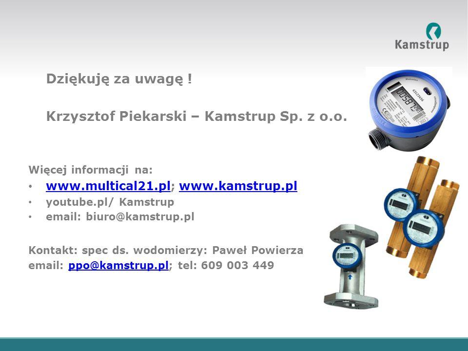 Krzysztof Piekarski – Kamstrup Sp. z o.o.