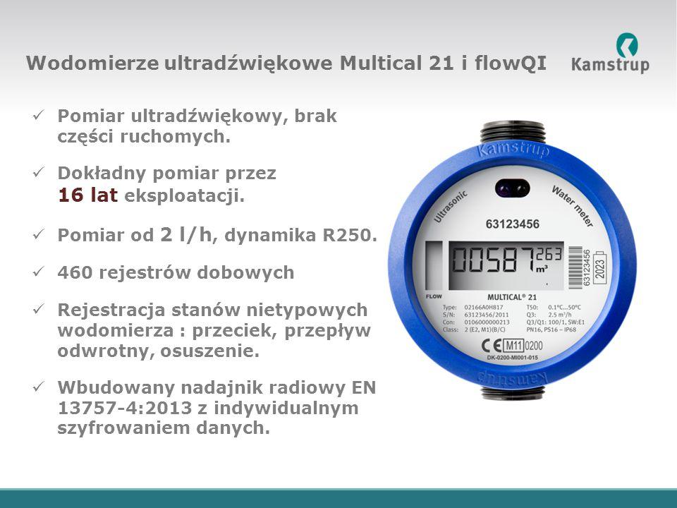 Wodomierze ultradźwiękowe Multical 21 i flowQI