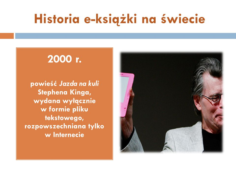 Historia e-książki na świecie