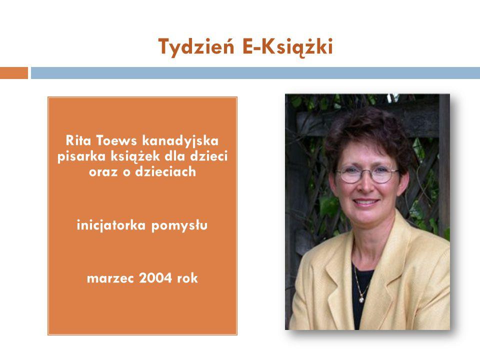 Rita Toews kanadyjska pisarka książek dla dzieci oraz o dzieciach