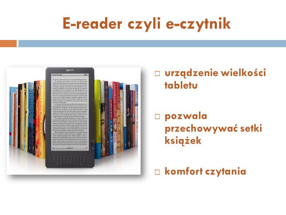 E-reader czyli e-czytnik