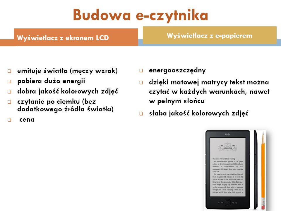 Wyświetlacz z e-papierem