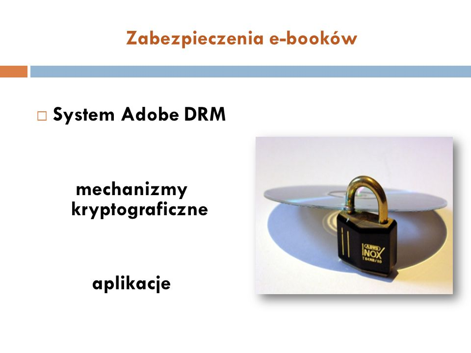 Zabezpieczenia e-booków