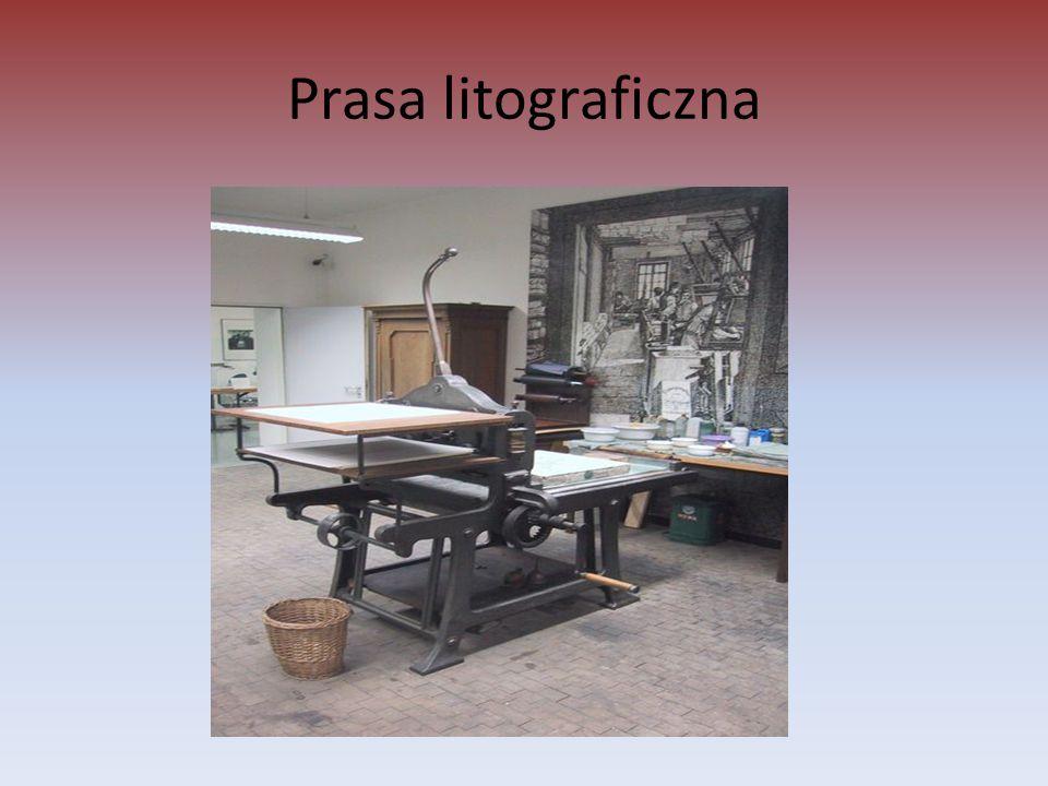 Prasa litograficzna