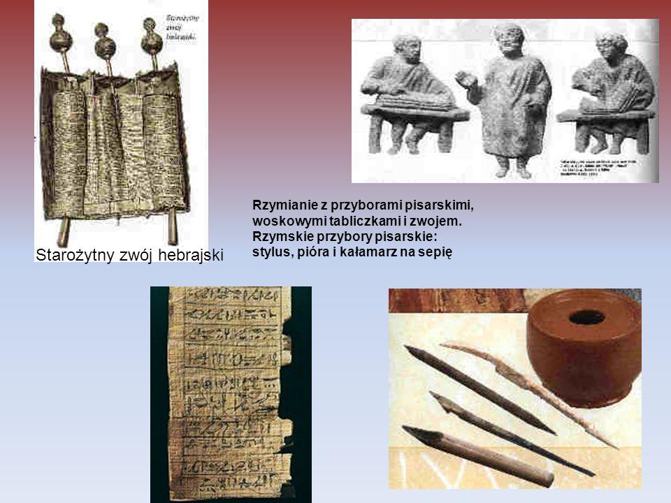 Starożytny zwój hebrajski