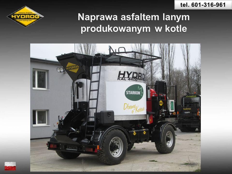 Naprawa asfaltem lanym