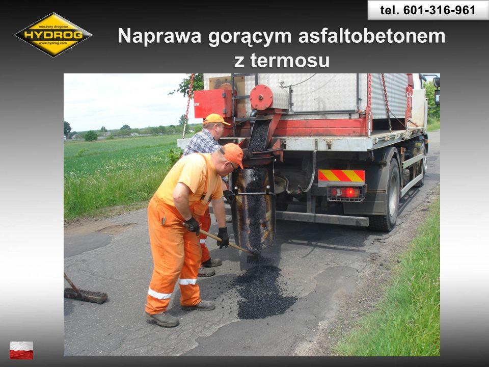 Naprawa gorącym asfaltobetonem