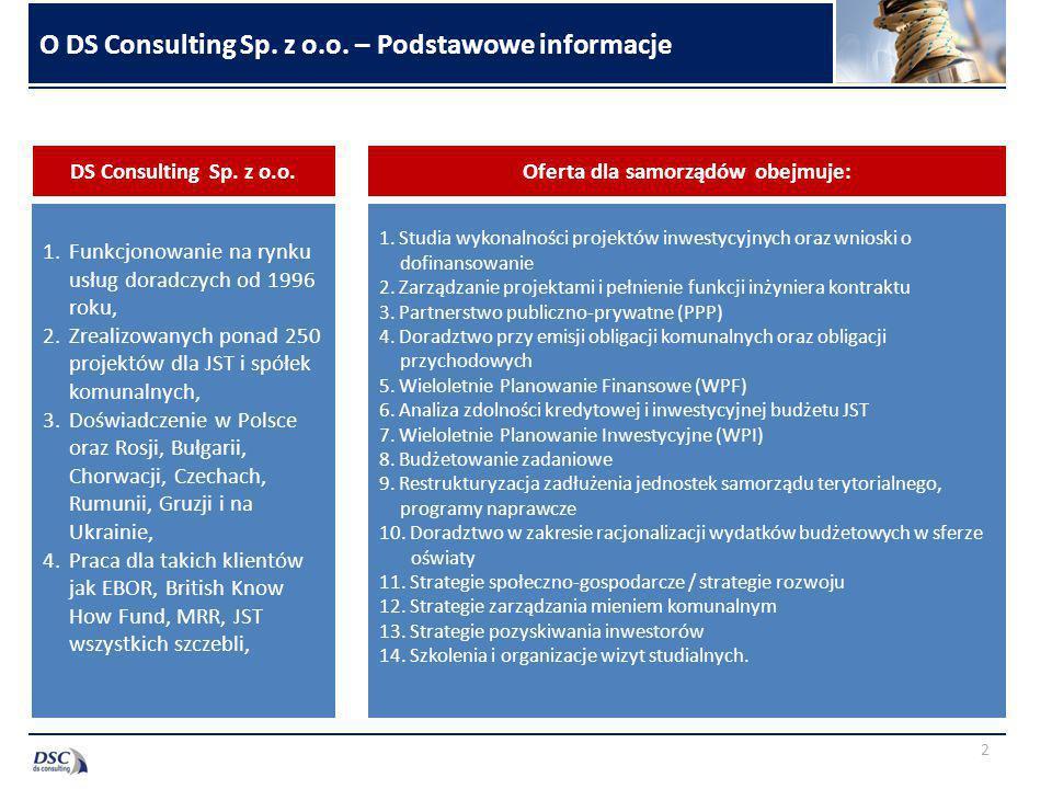 O DS Consulting Sp. z o.o. – Podstawowe informacje