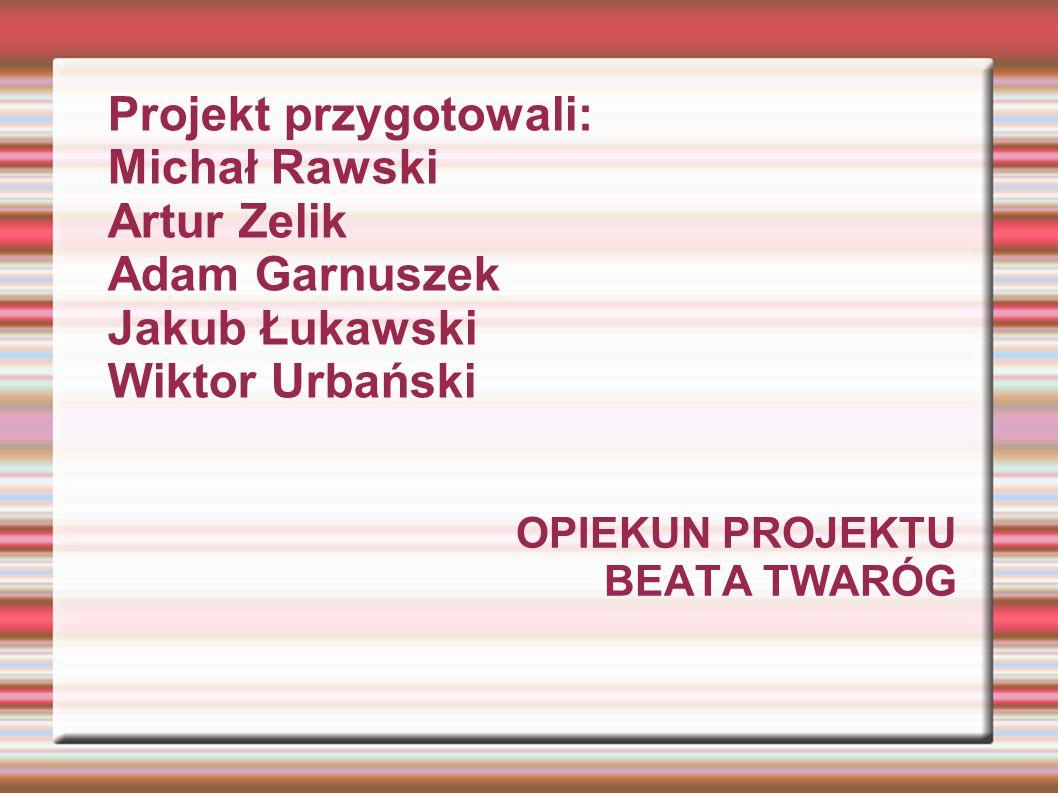 Opiekun projektu Beata twaróg