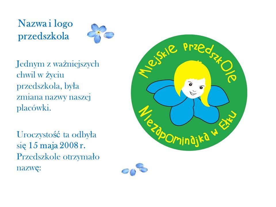 Nazwa i logo przedszkola
