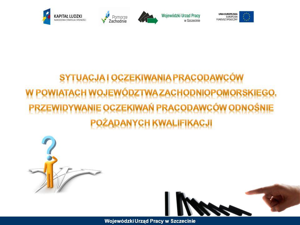 Sytuacja i oczekiwania pracodawców w powiatach województwa zachodniopomorskiego.