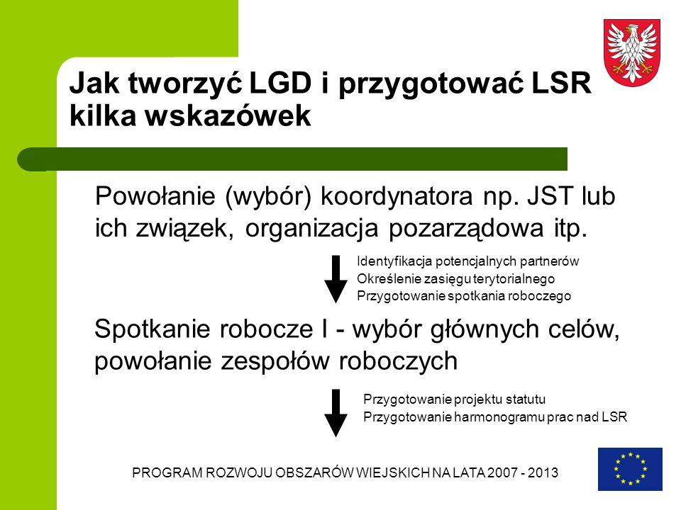 Jak tworzyć LGD i przygotować LSR kilka wskazówek