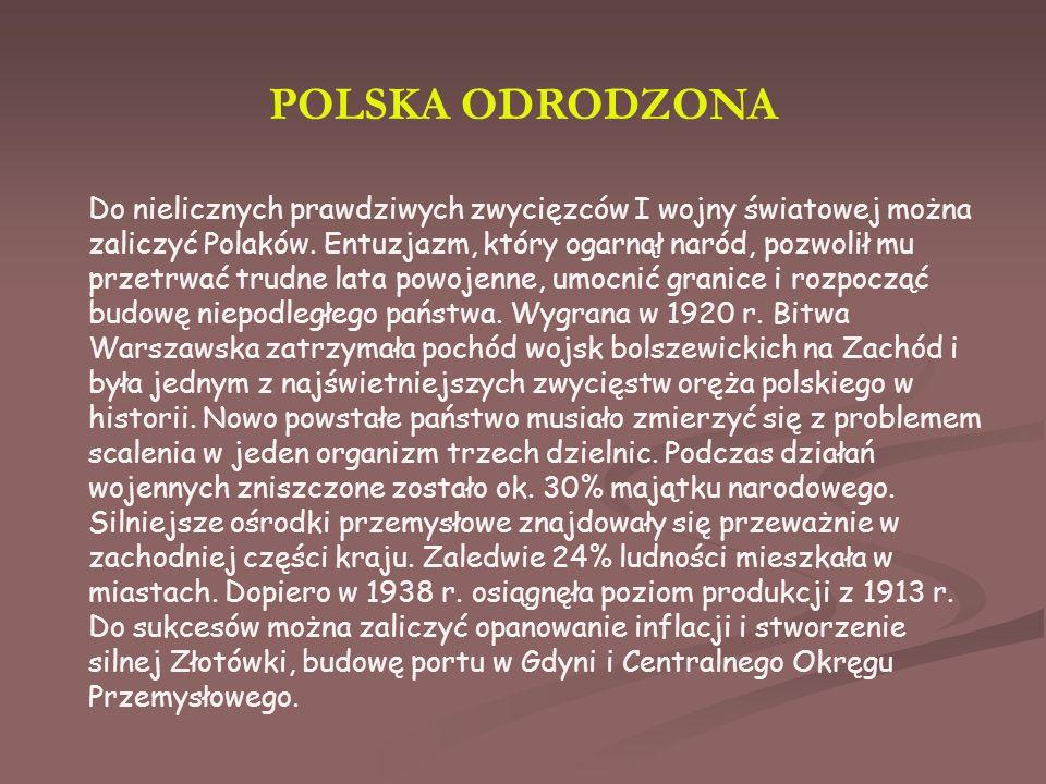 POLSKA ODRODZONA