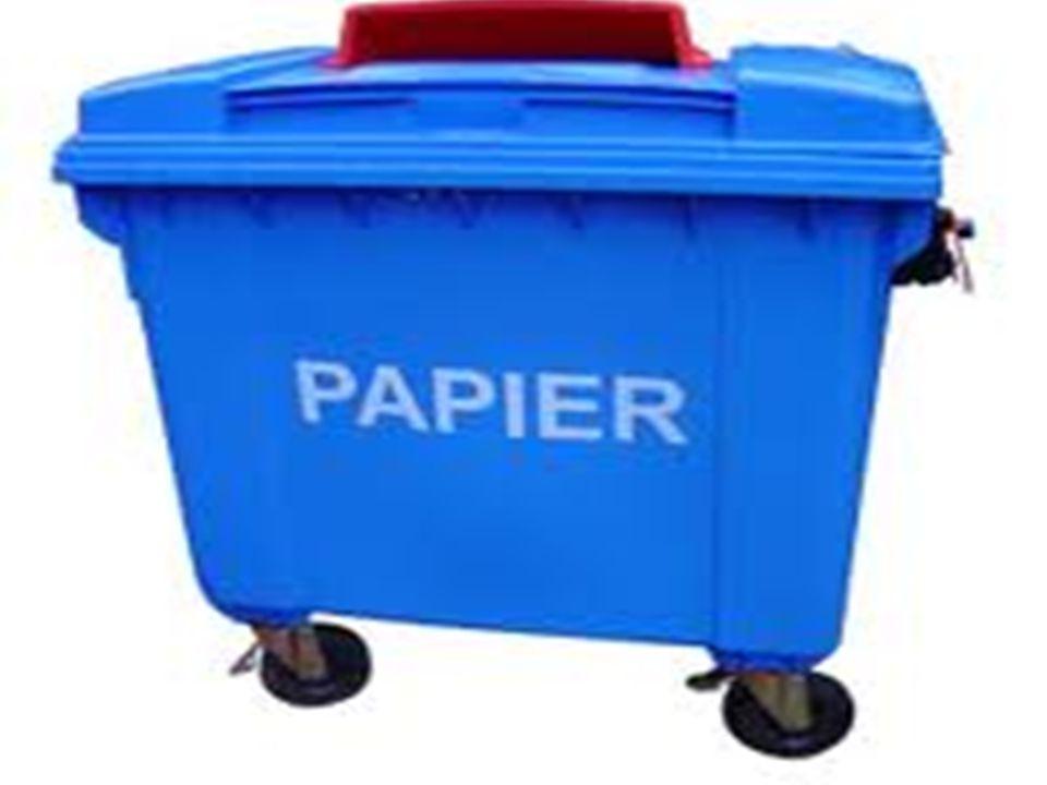 Segregacja papieru. Tu wrzucam: gazety i czasopisma