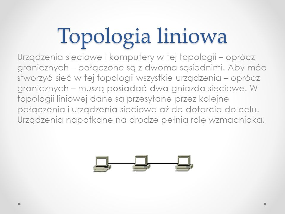 Topologia liniowa