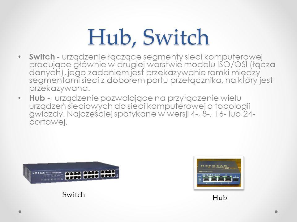 Hub, Switch
