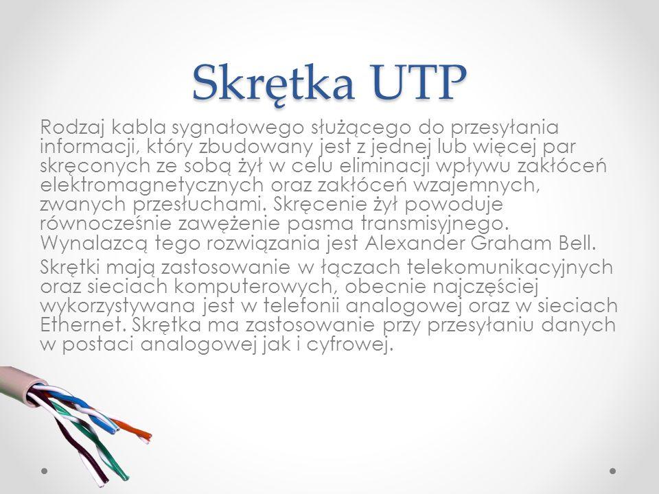 Skrętka UTP