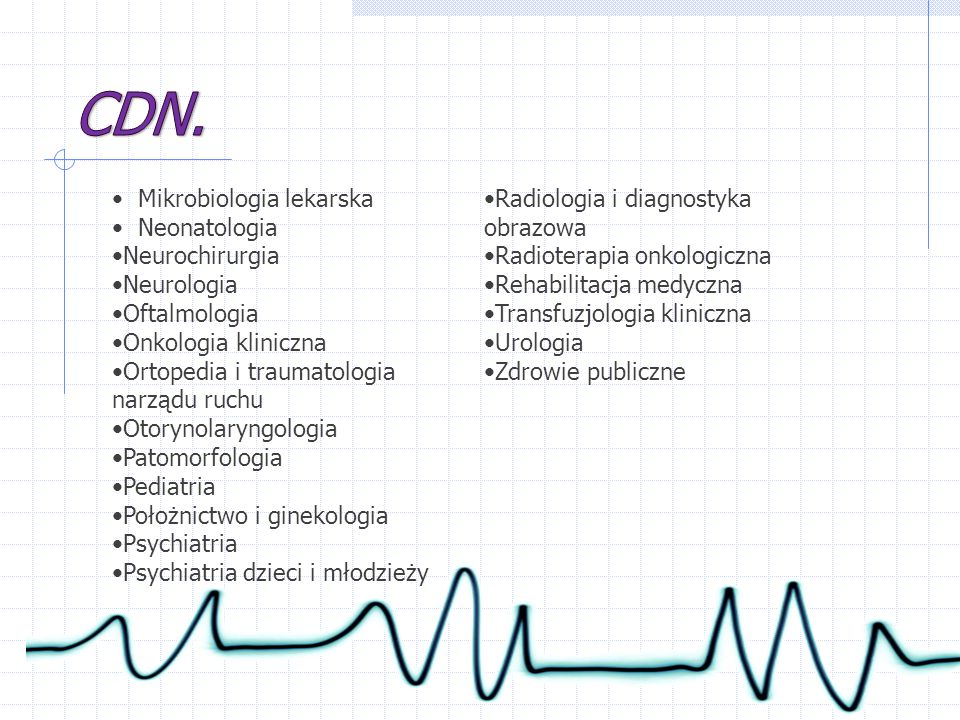 CDN. Mikrobiologia lekarska Radiologia i diagnostyka obrazowa