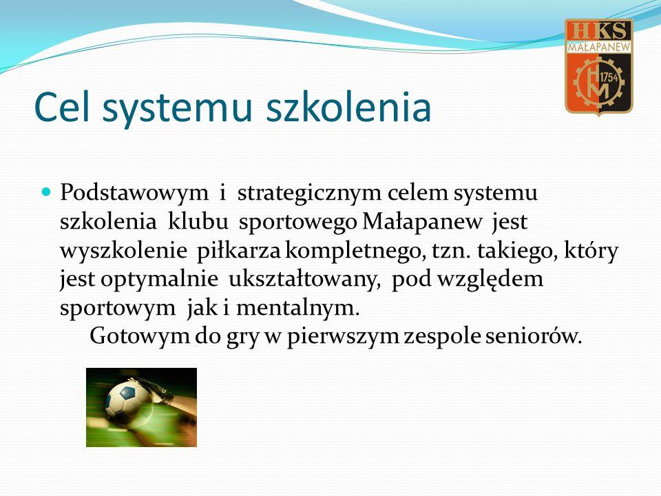 Cel systemu szkolenia