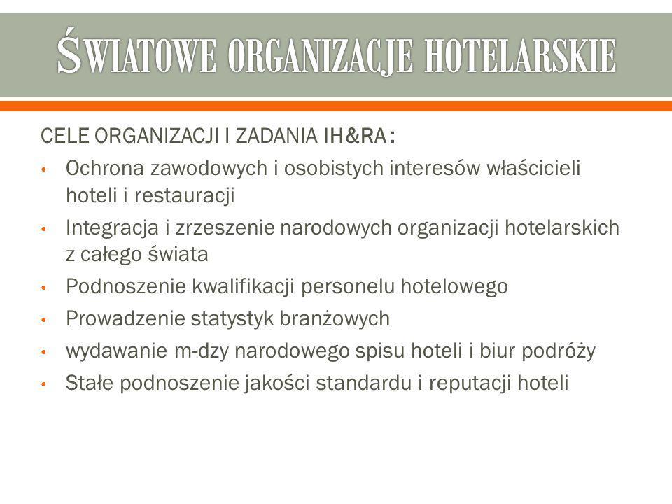 ŚWIATOWE ORGANIZACJE HOTELARSKIE