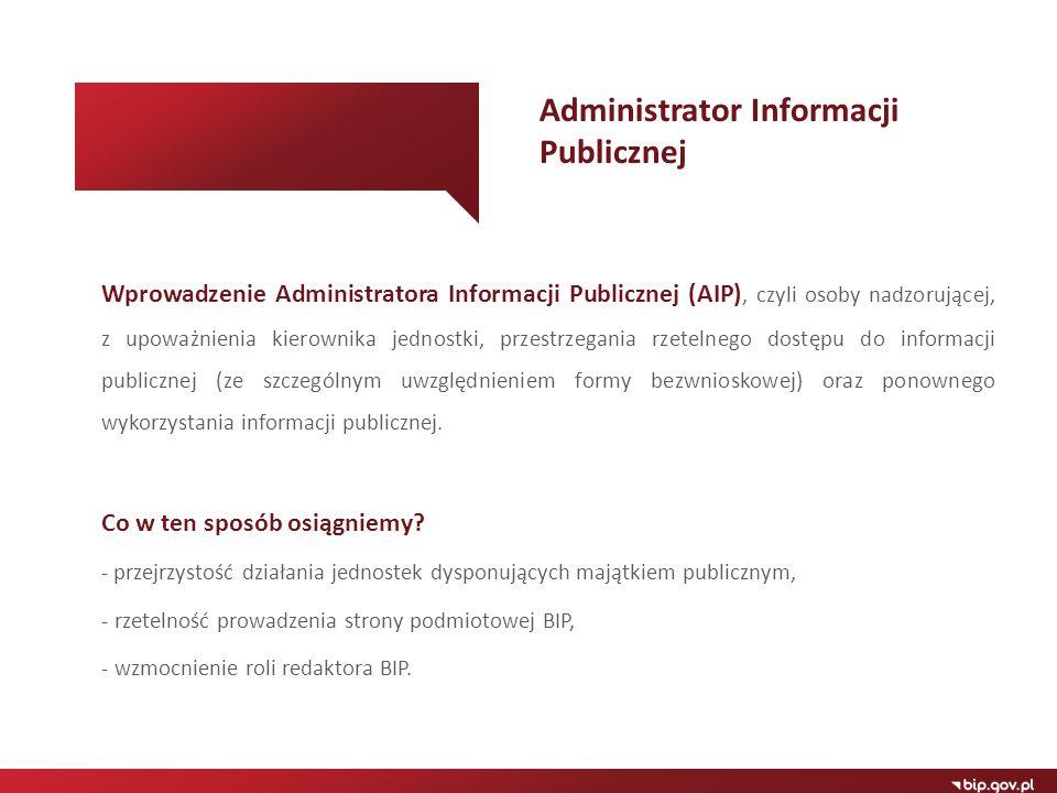 Administrator Informacji Publicznej