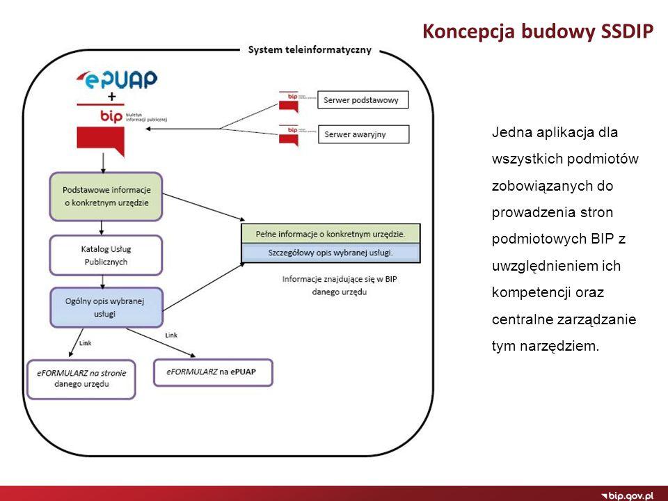 Koncepcja budowy SSDIP