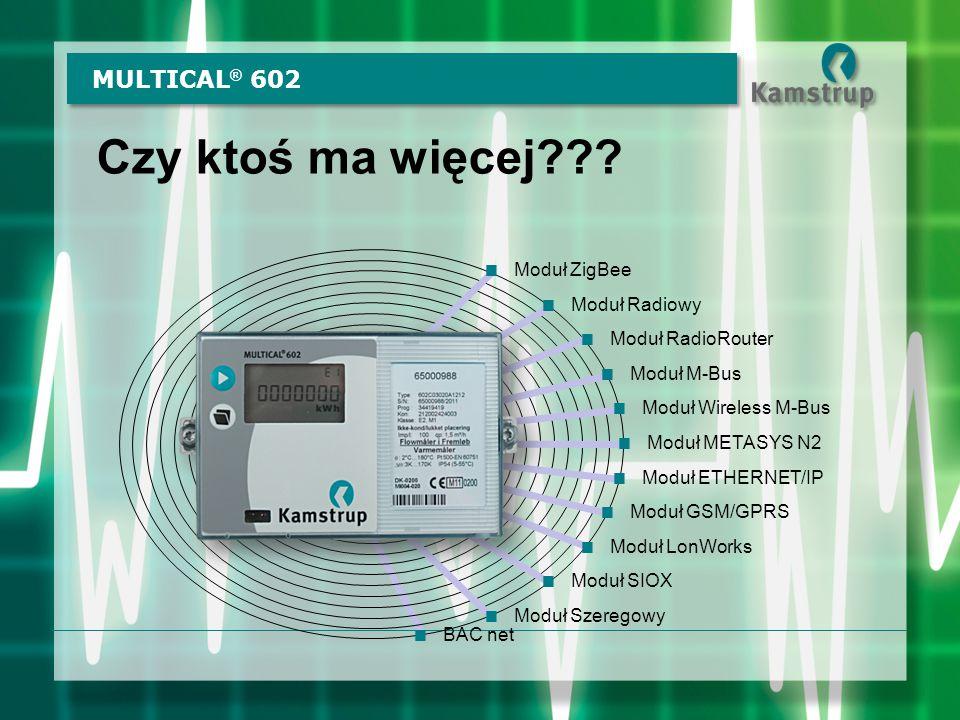 Czy ktoś ma więcej MULTICAL® 602 Moduł ZigBee Moduł Radiowy
