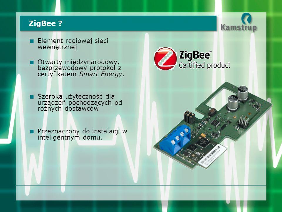 ZigBee Element radiowej sieci wewnętrznej