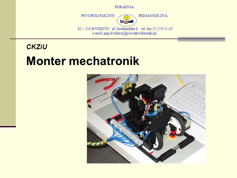 Monter mechatronik CKZiU
