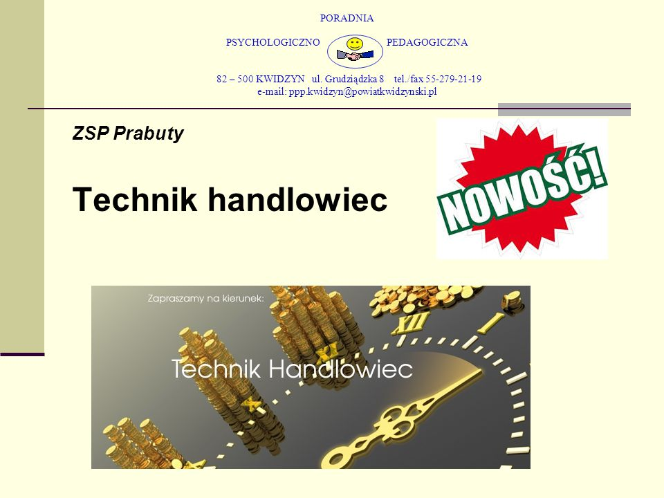Technik handlowiec ZSP Prabuty