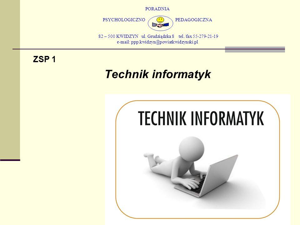 Technik informatyk ZSP 1