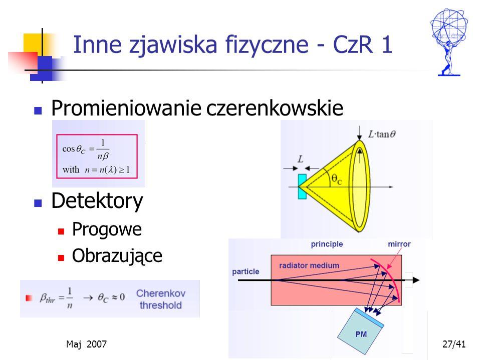 Inne zjawiska fizyczne - CzR 1