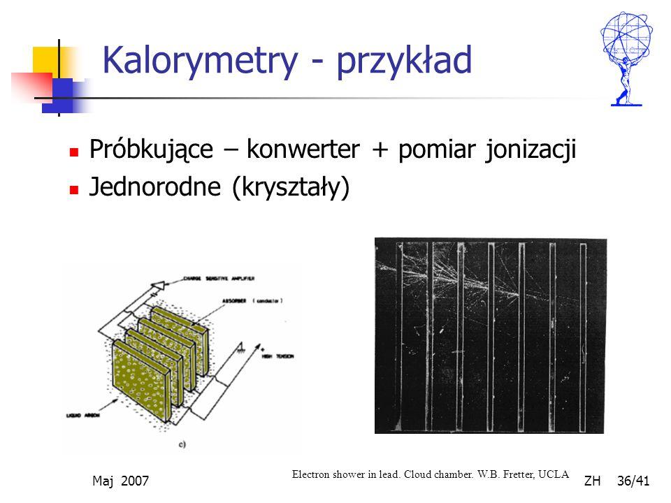 Kalorymetry - przykład