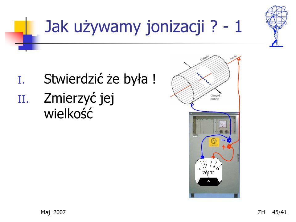 Jak używamy jonizacji - 1