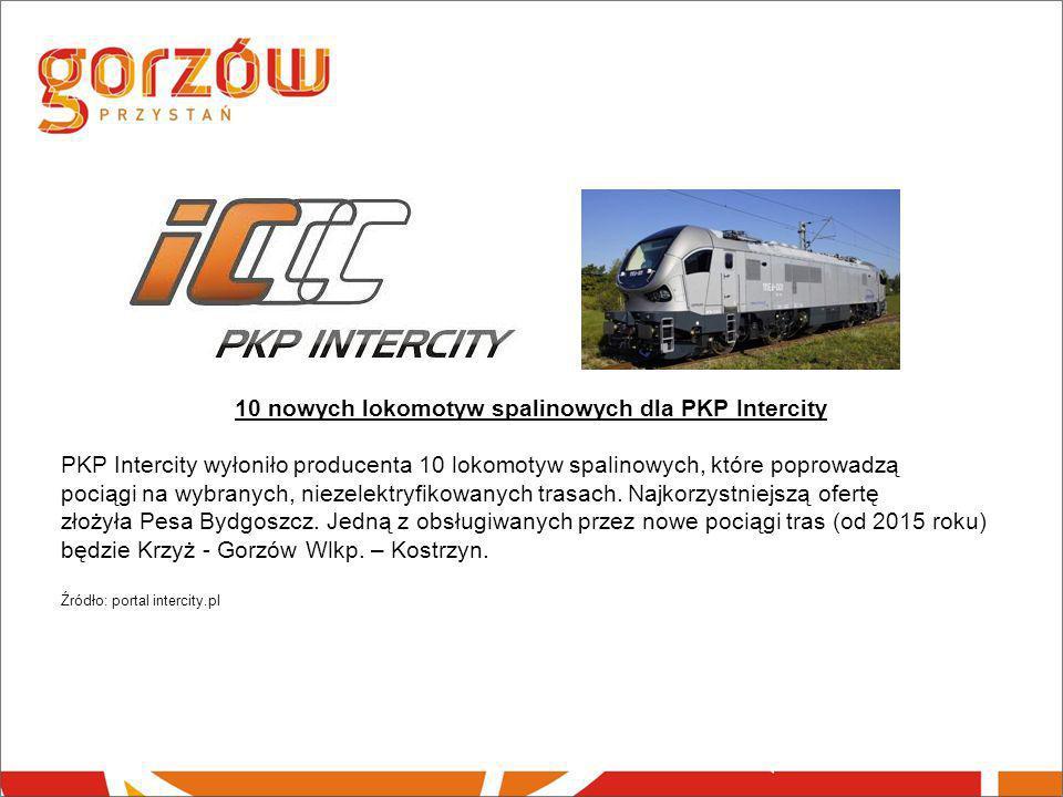 10 nowych lokomotyw spalinowych dla PKP Intercity