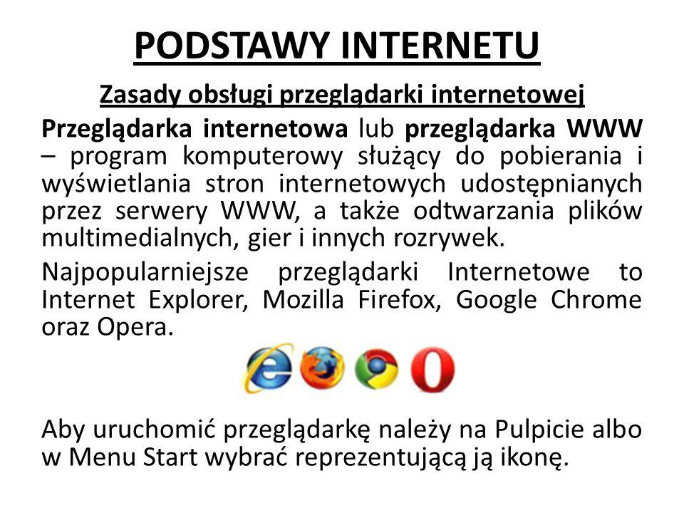PODSTAWY INTERNETU
