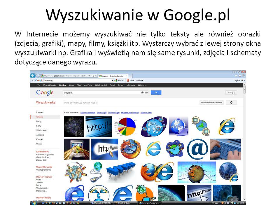 Wyszukiwanie w Google.pl