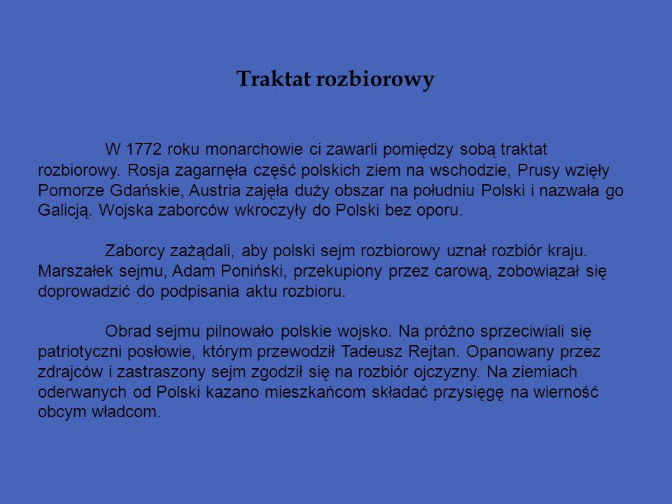 Traktat rozbiorowy