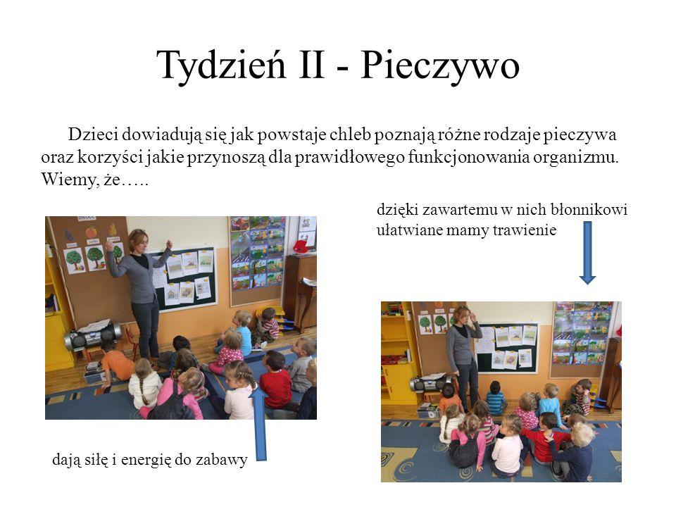Tydzień II - Pieczywo